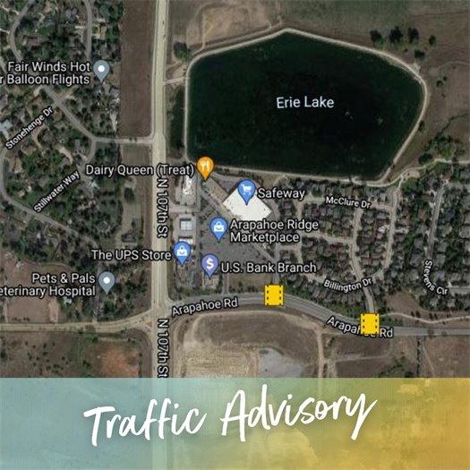Traffic Advisory: Arapahoe Road Signal