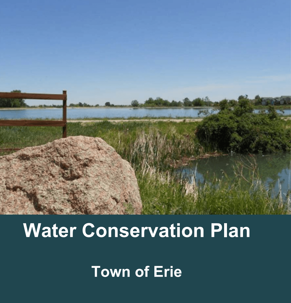 Master Plan - Water Conservation