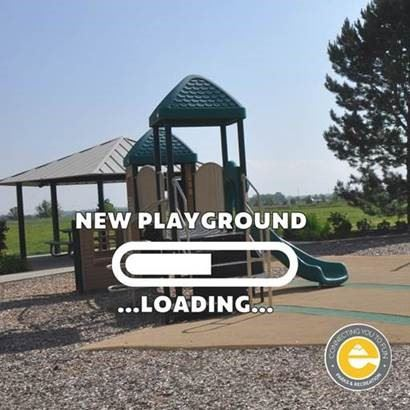 New Playground Loading - Country Fields