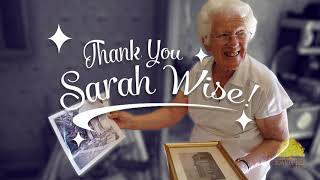 thank you sarah wise