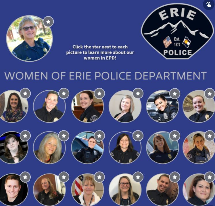 women of erie police department