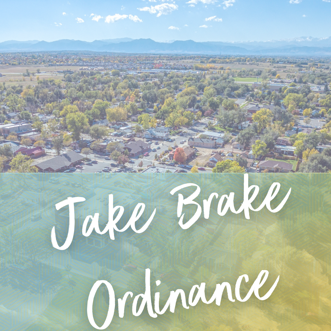 Jake Brake Ordinance