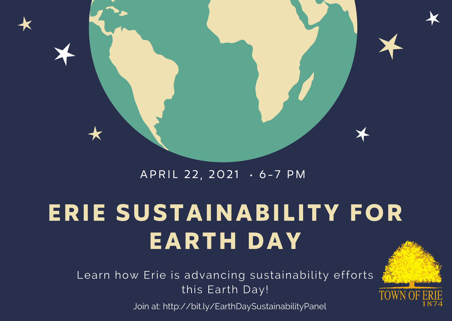 Erie Earth Day Card
