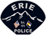 Erie PD - Shoulder Badge - 2014 - Small