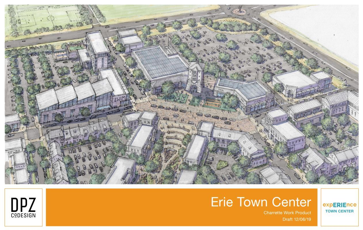 Erie Town Center Charrette Work Product
