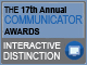17th Annual Communicator Award - Interactive Distinction